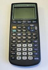 Genuine Texas Instruments Ti-83 Plus Calculator -Tested No Cover