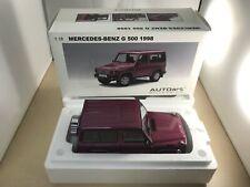 AUTOart 1/18 Mercedes Benz G500 SWB (Red) 76113