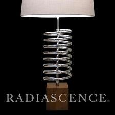 "LAUREL POP ART MODERN CHROME ""SPRING""       SCULPTURE MONUMENTAL TABLE LAMP 1960"