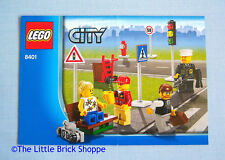 Lego City 8401 Minifigure Collection - INSTRUCTION BOOK ONLY - No Lego bricks