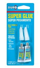 Duro 1347649 Super Glue, Clear, 2 Pack