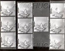 Nude Poses w/ Feathered Bird HENDRICKSON Negative & Photo Contact Sheet D701