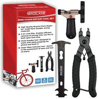 Bicycle Chain Repair Tools Kit 2in1 Link Plier Breaker Wear Indicator Tool