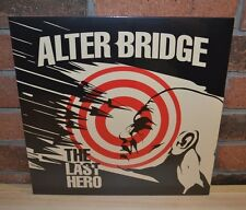 ALTER BRIDGE - The Last Hero, Ltd 1st Press 2LP WHITE VINYL Gatefold New
