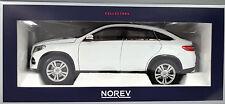 Mercedes-Benz GLE Coupé Baujahr 2015 weiß Maßstab 1:18 von Norev