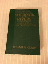 1939 The American Cavalcade Series Railroads And Rivers Train 1sT ed Photographs