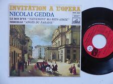 Invitation a l opera NICOLAI GEDDA Le roi d Ys  ROVL 9027