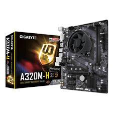 More details for amd ryzen 3 3300x quad core gigabyte a320m-h micro atx cpu motherboard bundle