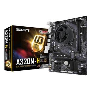 AMD Ryzen 3 3200G Quad Core Gigabyte A320M-H Micro ATX CPU Motherboard Bundle