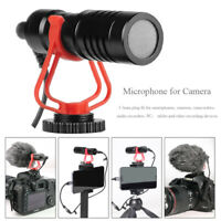 3.5mm Interview  Shotgun Mic Video Microphone for DSLR Camera & Smartphones
