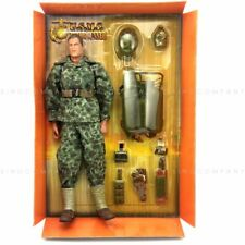 21st Century Toys 12'' Ultimate Soldier WWII U.S.M.C. FLAME GUNNER Figure Toys