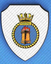 HMS VESTAL WALL SHIELD