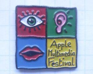 APPLE MULTIMEDIA FESTIVAL ...................Computer Pin (154e)