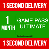 1 MONTH XBOX GAME PASS ULTIMATE MEMBERSHIP- Instant Delivery, Xbox One, Xbox 360