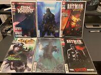 Batman Who Laughs the Grim Knight 1 Cover A + Dell'Otto Variant Signed W/ COA