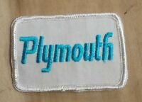 NEW Vintage Plymouth Patch