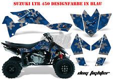 Amr racing décor Graphic Kit ATV suzuki ltr 450 Lt-r Dog Fighter B