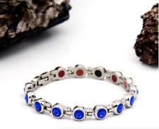 Authentic Pur life Negative Ion Bracelet ELEGANT PINK SWAROVSKI STAINLESS WOMEN