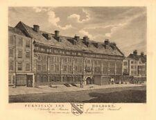 FURNIVALS INN. Lords Furnival Mansion. Inn of Chancery. Holborn, London 1834