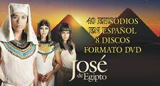 Jose de Egipto. Tele-serie Completa Brazileña  8 Dvds - Audio Español