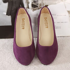 Women Ballet Ballerina Dolly Pumps Flat Ladies Casual Slip On Loafers Shoes Size