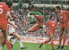 poster photo clipping  Bruce Grobbelaar Foot Liverpool 1983