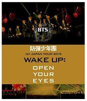 BTS / Bangtan Boys 1st Japan Tour 2015 Wake Up: Open Your Eyes Blu-ray
