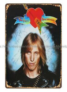 Tom Petty & The Heartbreakers 1976 Debut Album cover metal tin sign artwall