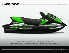 IPD Jet Ski Graphic Kit for Kawasaki 15F & STX (CF Design)