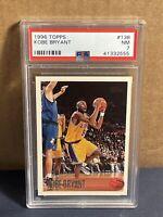 1996 Topps Kobe Bryant #138 PSA 7 Near Mint ROOKIE RC Lakers HOF
