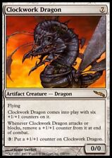 MTG 1x CLOCKWORK DRAGON - Mirrodin *Rare DEUTSCH GERMAN FOIL NM*