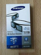 Samsung Full HD 3D Active Glasses für TV 2 Stück Modell:SSG-4100GB  *NEU