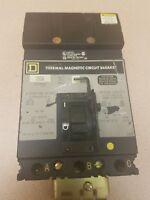 Used Square D FC34020 FC 3 Pole 20 amp 480 Volt I Line Circuit Breaker