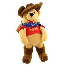 Disney Bean Bag Plush - COWBOY POOH (Winnie the Pooh) (9 inch) - Mint