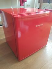 Russell Hobbs RHTTLF1R Table Top Mini Fridge - Red excellent condition
