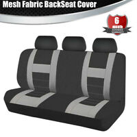 Universal Car Rear Seat Covers Cushions Protector Mesh Fabric Chair Cushion