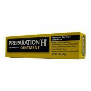 3 X PREPARATION H OINTENT CANADIAN TYPE Bio-Dyne-Shark Oil 25gr,Eyes,Hemorrhoid