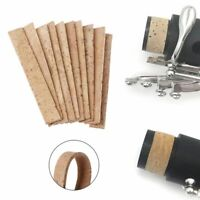 10pcs Clarinet Cork Bb Joint Corks Sheets For Saxophones Musical Instruments