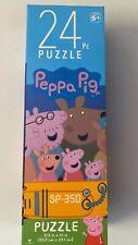 "Peppa Pig 24 Piece Jigsaw Puzzle 10.3"" X 9.1"" Childrens Kids Cardinal NEW"