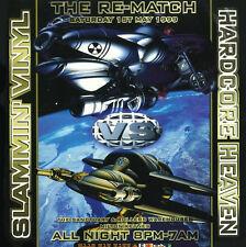 SLAMMIN VINYL VS HARDCORE HEAVEN - THE RE-MATCH (HARDCORE CD COLLECTION) 1/5/99