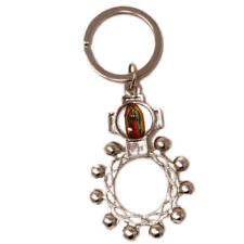 Our Lady of Guadalupe keyring one decade rosary ring 8cm Catholic gift