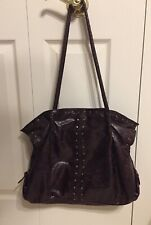 Vintage Large Purse Tote Bag Imitation Leather Soft Roomy New No Tags