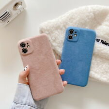 Fashion Soft Velvet Plush Colorful Case Cover For iPhone 11 Pro Max X XS XR 8 7