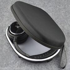 Black Hard Headphone Case Velvet Lining Inner Pouch for B&O Beoplay H2 H6 QC25