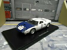 FORD GT40 V8 24h Le Mans 1964 #11 Ginther Gregory S4079 Spark 1:43