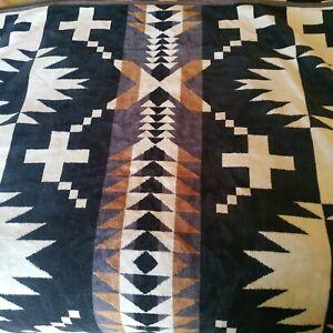 "Pendleton Oversized Beach Spa Bath Sheet Towel Native American Jacquard 40""x70"""