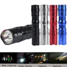 Mini 3W AA LED Flashlight Linterna Focus Luz de la antorcha Super Bright Lámpara