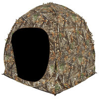 Ameristep 2 Person Shadow Guard Durashell Plus Doghouse Ground Blind, Camouflage