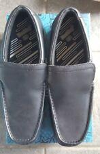 Clarks Greinton Go BL Boys School Shoes Black Leather UK 9.5 H