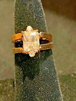 Vintage WEIRD Ring Is 2 Rings in 1